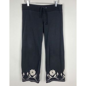 LUCKY BRAND | Embroidered Crop Lounge Sweatpants